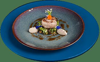 Grilled Seabass Salad